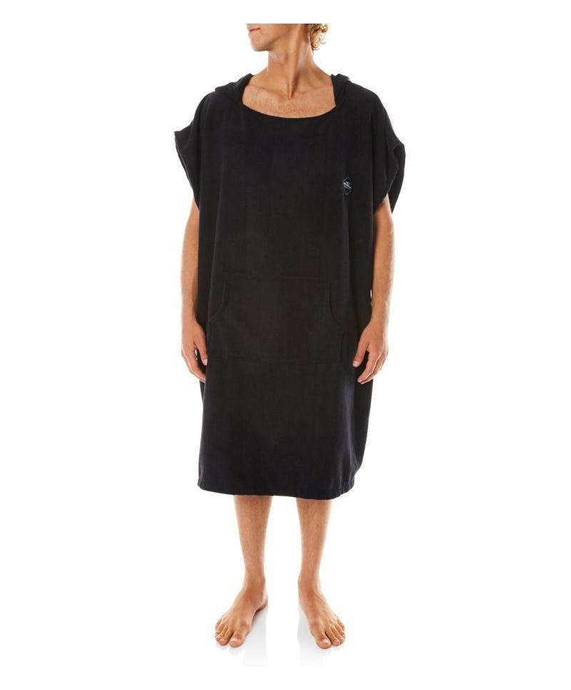 오닐(ONEILL) 오닐 몬순 체인지 비치 판초 타월 - 2713002 MONSOON CHANGE TOWEL - BLACK
