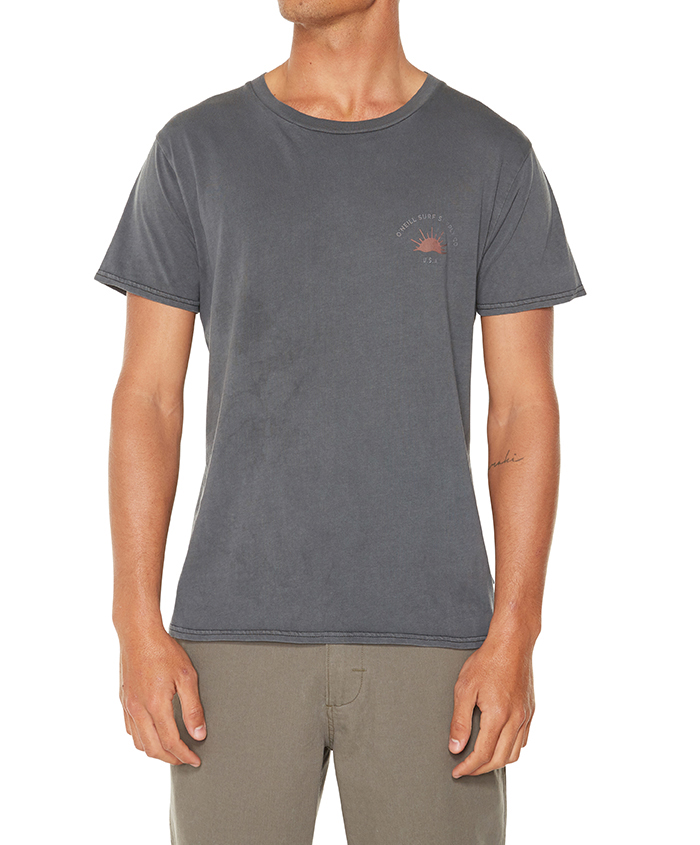 오닐(ONEILL) 오닐 홀리데이 티셔츠 HOLIDAY TEE - 5211817 VINTAGE BLACK