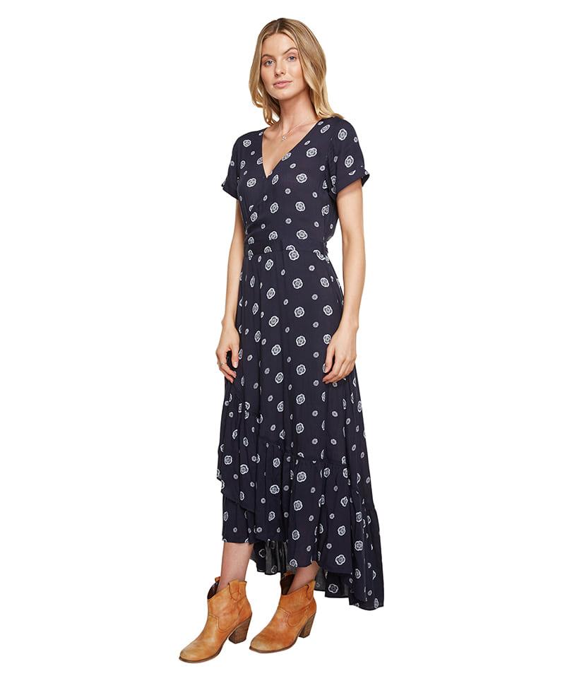 오닐(ONEILL) 오닐 여성 드레스 - 5321606 VISTA DRESS - EBS EBONY SPOT